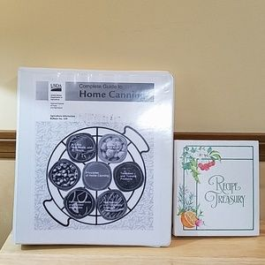Home Canning Guide and Recipe Book Bundle